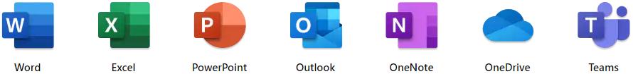 Aplicações Microsoft 365