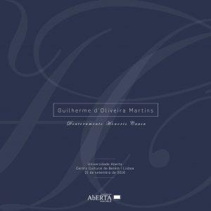Doutoramento Honoris Causa | Guilherme d'Oliveira Martins